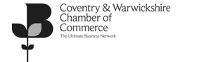 We are proud members of the Coventry and Warwickshire Chamber of Commerce
