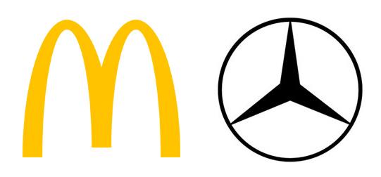 MacDonalds and Mercedes Benz